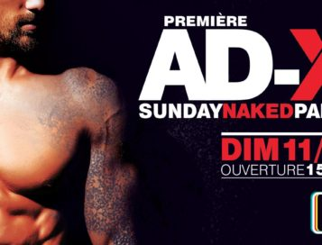 AD-X Sunday Naked Party