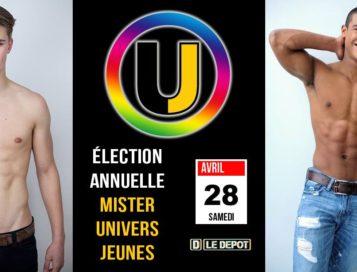 Univers Jeunes avec l'élection annuelle du plus beau jeune gay !