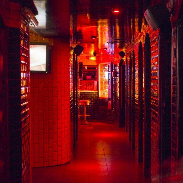 Le Dépôt – Cabines et labyrinthe